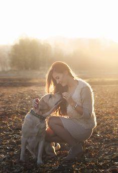 девушка собака фотограф уфа girl woman sun morning light friend photography photoshoot smile autumn friends