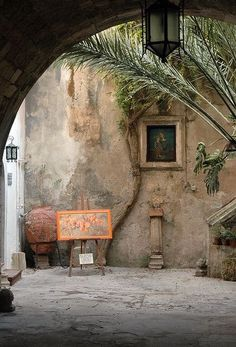 Ortigia - via Maestranza, Siracusa, Sicily