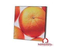 Κάδρο κουζίνας λακαριστό 30εκ. Orange, Fruit