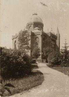 Synagoge in Köslin (Koszalin), zerstört in der Reichskristallnacht