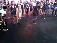 Thailand-street dance in pattaya