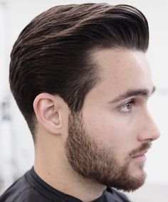 Classic Mens Hairstyles, Mens Hairstyles With Beard, Hair And Beard Styles, Hairstyles Haircuts, Latest Haircuts, Haircuts For Men, Cut My Hair, Hair Cuts, Medium Hair Styles