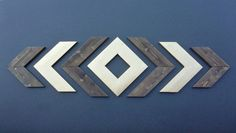 Rustic Wood CHEVRON ARROWS Stained / Painted, Modern Wooden Chic Chevron, Wood Arrow Wall Art, Chevron Home Decor, Decorative Wood Arrows