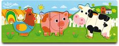 Farm 2-3-4 Puzzle #4614 #magicforesttoys #vilac