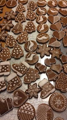 Gingerbread Cookies, Food And Drink, Desserts, Backen, Food Recipes, Gingerbread Cupcakes, Ginger Cookies, Deserts, Dessert