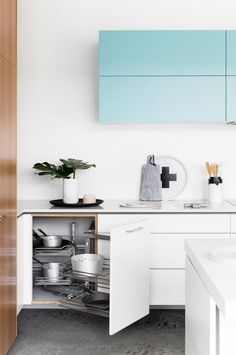 How to double your kitchen storage. Styling by Ruth Welsby. Photography by Martina Gemmola.