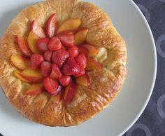 Brioche Custard Tart