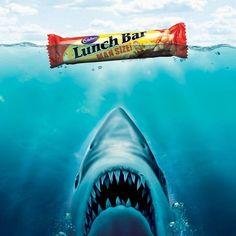 Cadbury Lunch Bar Man Size : Jaws