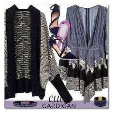 """Cute Cardigan"" by yoinscollection ❤ liked on Polyvore featuring Moschino"