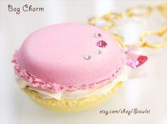 Macaron Jewelry Necklace/Key Chain /Bag Charm/BookMark/ by Siawlei, $18.80