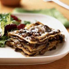 Delightful Mushroom Lasagna