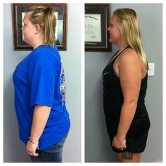 CONGRATS! Ashley has lost 23lbs in 6 weeks with our wellness program! She is doing awesome! We are so proud of her!