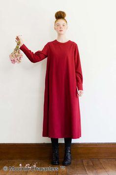 時にはなりきってみる?|リトルミイ 麻混素材の赤いワンピース Jacket Dress, Normcore, High Neck Dress, Wedding Dresses, Syrup, How To Wear, Jackets, Shopping, Simple