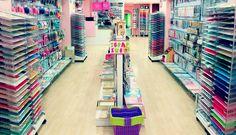 Stationery Store, Art Store, Room Organization, Store Design, Washi Tape, Ideas Para, Decoupage, Office Supplies, Wall Decor