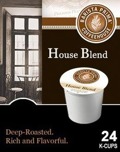 Barista Prima Coffeehouse HOUSE BLEND 48 K-Cups for Keurig Brewers