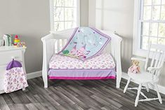 nice 3 Piece Girls Crib Bedding Set Princess Storyland Includes Quilt Fitted Sheet and Dust Ruffle Nursery Bedding Set Baby Crib Bedding Set 0 0 SOFT, COZY AND COLORFUL – These whimsical infant bedding sets make it easy to coordinate your little one's nursery with fun, printed patterns designed to create a soothing sleeping environment. These charming crib bedding sets include a fitted crib she...