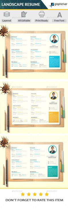 Resume Ai illustrator, Resume cv and Cv template - illustrator resume