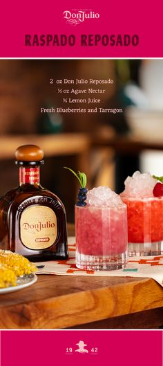 Have Don Julio delivered to your door in under and hour! Drizly partners with liquor stores near you to provide fast and easy Liquor delivery. Frozen Cocktails, Summer Cocktails, Cocktail Drinks, Cocktail Recipes, Classic Cocktails, Party Drinks, Fun Drinks, Beverages, Cocktail Simple