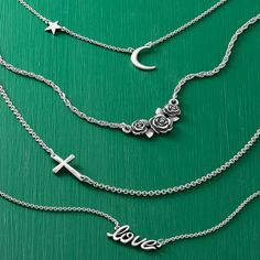 These necklaces effortlessly mix and match and layer together for a look all your own. Drop a last-minute hint that you'd love to have one (or two) of these under the 🎄. Shop these and more last-minute gifts. Silver Pendant Necklace, Silver Necklaces, Arrow Necklace, James Avery Necklace, Last Minute Gifts, Personalized Necklace, Gift Guide, Drop, Chain