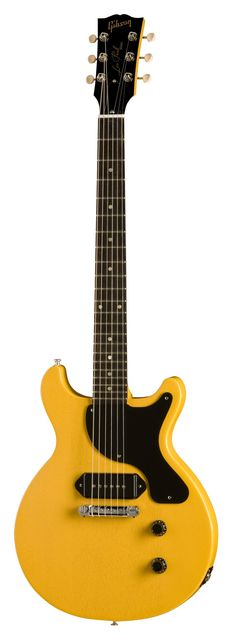 TV yellow Les Paul jr. Double Cutaway, often refferred as The Johnny Thunders guitar