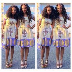 Ethiopian traditional dress www.ethiopianclothing.net
