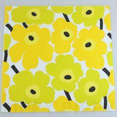 【楽天市場】マリメッコ 可愛い 4つ折りペーパーナプキン☆UNIKKO yellow☆(20枚入り):Pippy 楽天市場店