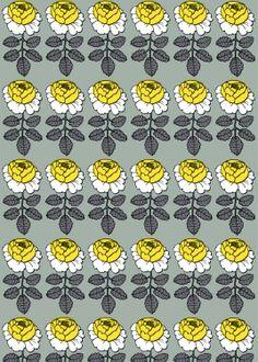 marimekko Maalaisruusu fabric