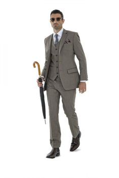 3 piece suit for men by Montagio Custom Tailoring