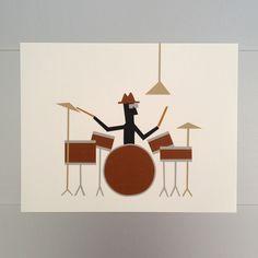 Drummer Print 11x14