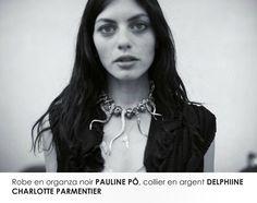 IDOLE, collier n°26 Delphine-Charlotte Parmentier