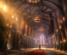 Today's artist spotlight features Matt Allsopp, a concept artist who works for the UK design studio Leading Light Conceptual Design which has provided Picturesque Fabel 2 and Killzone 2 environments and concepts. Fantasy City, Fantasy Castle, Fantasy Places, Fantasy World, Fantasy Concept Art, Fantasy Artwork, 3d Artwork, Environment Concept Art, Environment Design