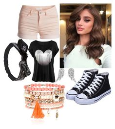 """Allia"" by elli-jane-xox ❤ liked on Polyvore featuring Pieces, Wet Seal, Accessorize and BERRICLE"