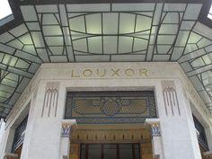 Louxor Cinema, Paris Egyptian Revival Art Deco