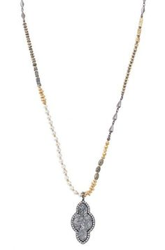 Gold Relic Pendant Necklace | Stella & Dot