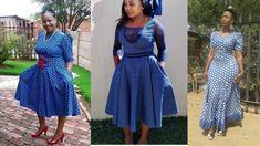 Lesotho Seshoeshoe Designs 2018 : Beautiful Shweshwe Dress DesignsLatest Ankara Styles and Aso Ebi Styles 2020 Ankara Styles For Men, Ankara Gown Styles, Latest Ankara Styles, Seshoeshoe Designs, Dress Designs, African Attire, African Dress, Seshoeshoe Dresses, Summer Dresses