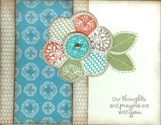 card by Kimberly Thomas using CTMH Stella paper