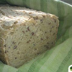 Kukuřično-pohankový bezlepkový chléb | Jíme Jinak Corn Recipes, Banana Bread, Gluten Free, Vegan, Cooking, Desserts, Food, Breads, Diet