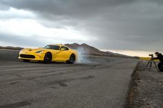 2013 SRT Viper GTS - Burnout