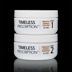 Timeless Prescription Advanced Hydroxy Face Peel and Neutralizer is a two-step process that removes dead skin cells, and provides an antioxidant defense that leaves skin looking smoother, younger and healthier. Motives Makeup, Congested Skin, Skin Nutrition, Advanced Skin Care, Face Peel, Skin Regimen, Exfoliate Face, Love Your Skin, Perfect Eyes