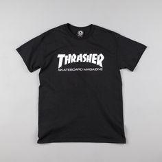 d7f777f59363 Thrasher Skate Mag T Shirt Black
