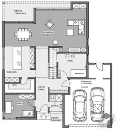 Hauspläne l-form  HUF house ART 6 to 9 - HUF HAUS | house plans/Pre-fab builds ...