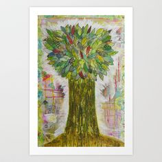 Tree of Righteousness  Art Print by A Southern Ladys Designs - $14.99