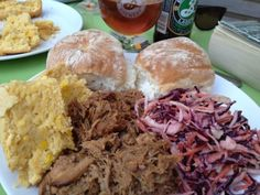 Slow cooked pulled pork recipe, all authentic American goodness