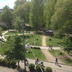 Olav Ryes plass, Park - Oslo, Norway