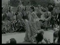 CARMEN AMAYA / MARIA DE LA O / BARCELONE - 1936