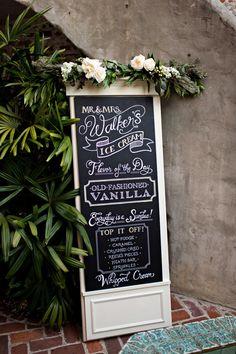 2015 Wedding Trend - Personalisation.  #2015weddingtrend #personalisation #receptiondecor #luxurywedding Event Signage, Wedding Signage, Wedding Reception Decorations, Chalkboard Wedding, Wedding Decor, Wedding Ideas, Wedding Events, Our Wedding, Weddings