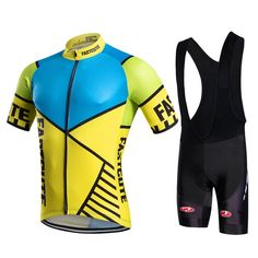 FASTCUTE 2016 summer short sleeve cycling jersey bib shorts shirt set  clothes sport MTB bike ropa 76ed556c7