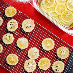 Candied Meyer Lemons