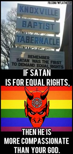 The more I read about christianity the more I think it's a story about evil god and good satan who got fucked over cause he didn't pay attention to PR.