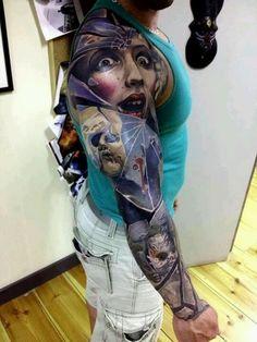 30+ Amazing Horror Tattoo Designs